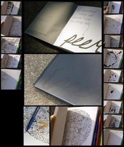 Image of peer: a limited edition archival coloring book