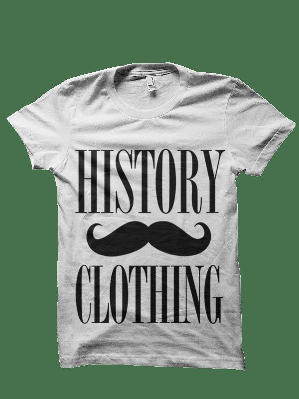 Image of Moustache Tee - White