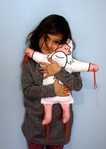 Image of Your Own Personal Jesus - Hand Made Plush Doll