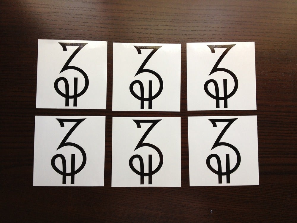 Image of 4'' x 4'' ZCLOCO Sticker