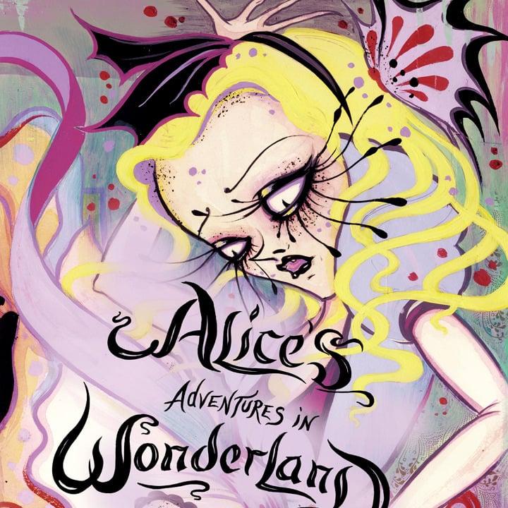 Alice In The Wonderland Book