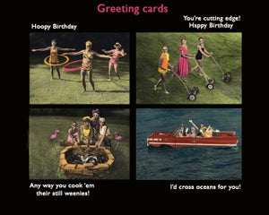 Image of Outdoor Gals Card Set 1