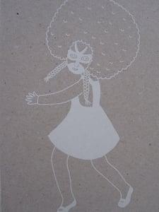 image de Petite fille afro