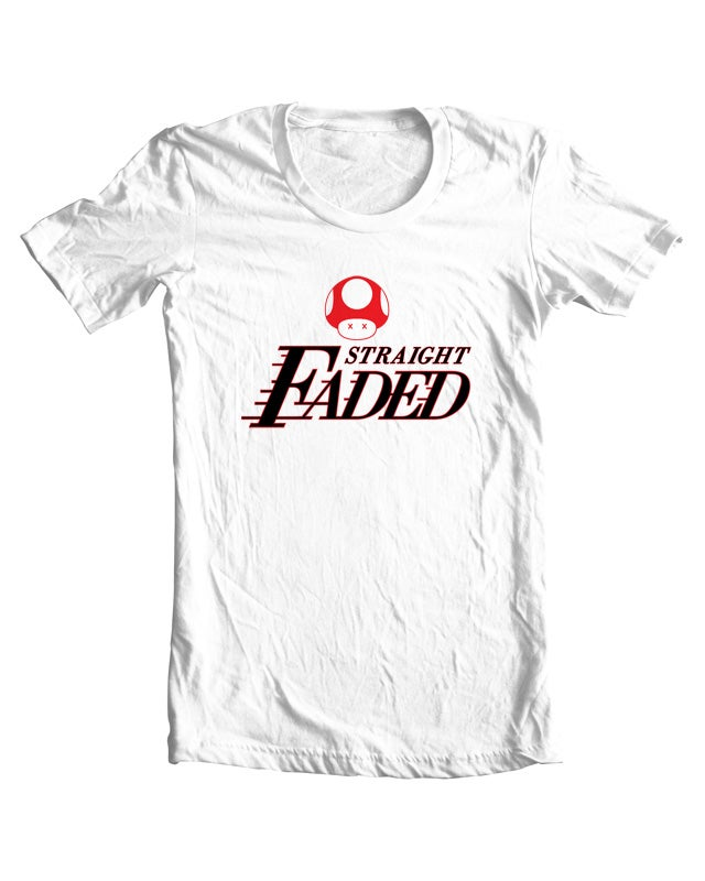 Image of Straight Faded (White)