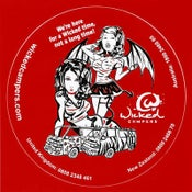 Image of Wicked Red Sticker