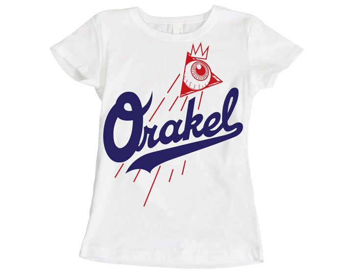 Image of ORAKEL WOMEN'S DODGER DOG TEE