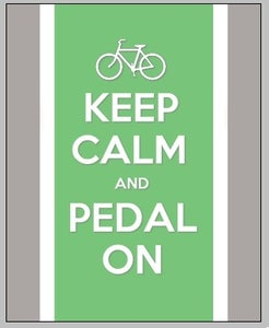 Image of Keep Calm and Pedal On