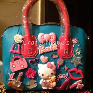 Image of ❥Hello kitty Barbie Glam Bag ❥