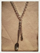 Image of Spoon Chain- 'Silver Letter'