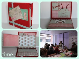 "Image of Tutorial de Álbum ""&"", scrapbooking y cartonnage"