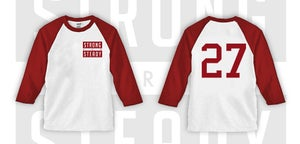 Image of RED SAS Flagship ( Angels ) Baseball Tee