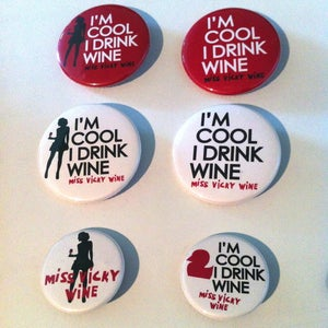 Image of The Vicky Wine's Pins Collection