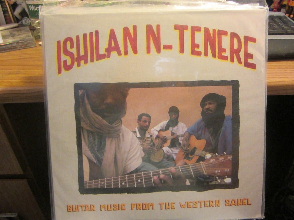 Image of Ishilan N-Tenere Guitar Music From Western Sawel LP Mississippi Records