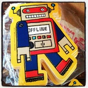 Image of robot sticker #02