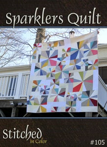 Image of Sparklers Quilt Pattern