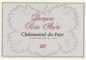Image of domaine Pierre André