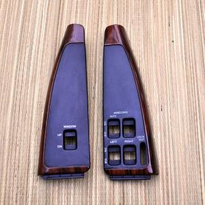 Image of 91-96 Chevy Caprice/Impala SS Switch Panels OEM Housing (Woodgrain)