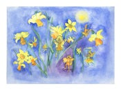 Image of Daffodil Flower Fairies Print