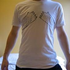 Image of bear tits t-shirt