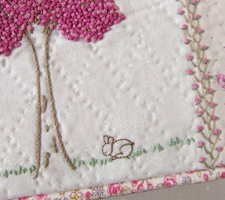 Image of PAPER VERSION - Tree & Bunny Pouch Pattern