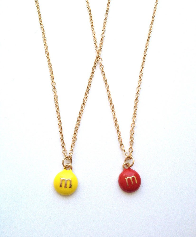 Image of M&M necklace