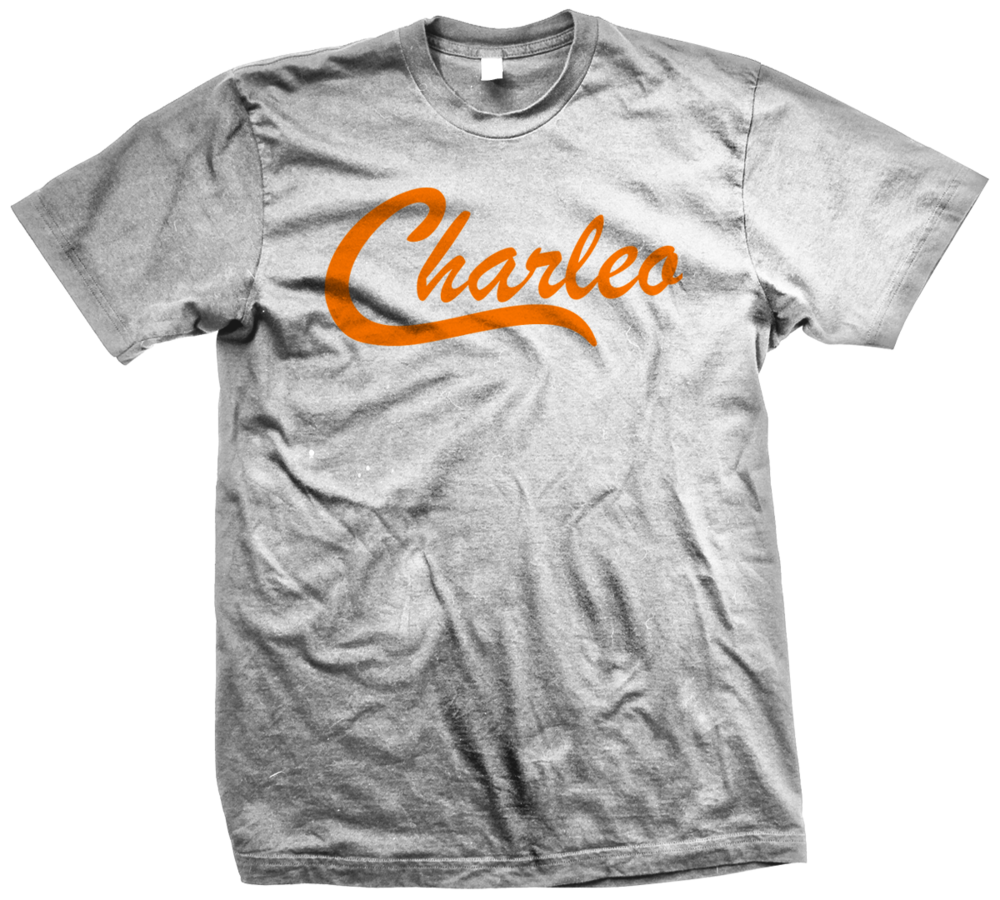 Image of The Original Charleo Crew   Ath Grey/ Orange