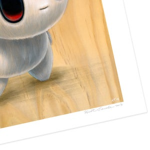 "Image of ""Boris"" giclee print"