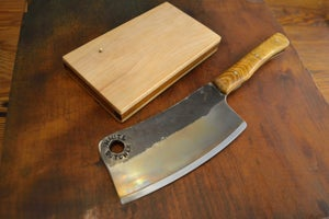 Image of Hand Forged Professional Meat Cleaver