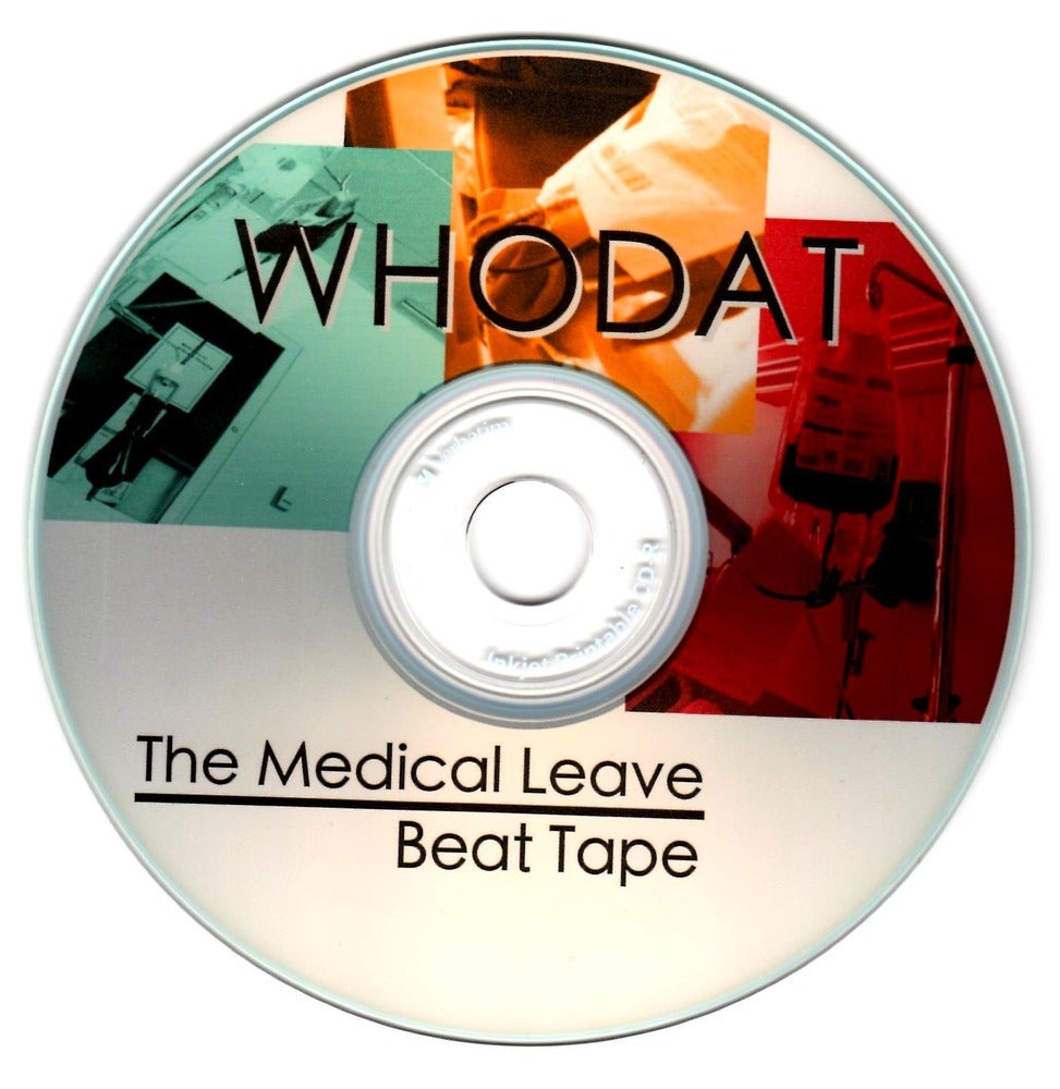 Image of The Medical Leave Beat Tape (CD)