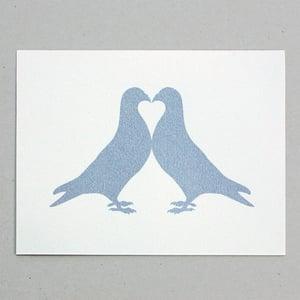 Image of Pigeon Fancier Silver print