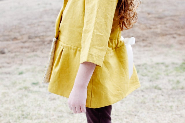 Image of the SANTA MONICA CINCH girl's jacket