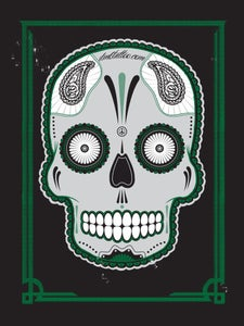 Image of DMBTattoo Skull Poster NUMBERED EDITION.