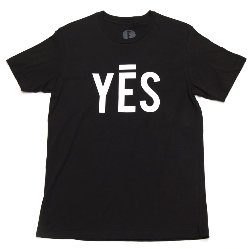 Image of Yes Tee (Black)