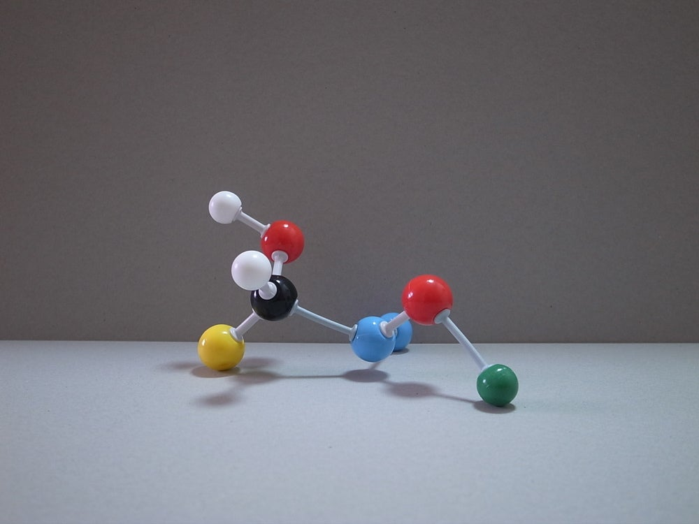 Image of Atom model kit set