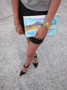 Image of Outrange Holographic Clutch