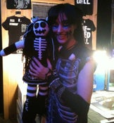 Image of One-Eyed Doll X OctiCraft - Bats Day Glow-In-The-Dark Kimmy Doll