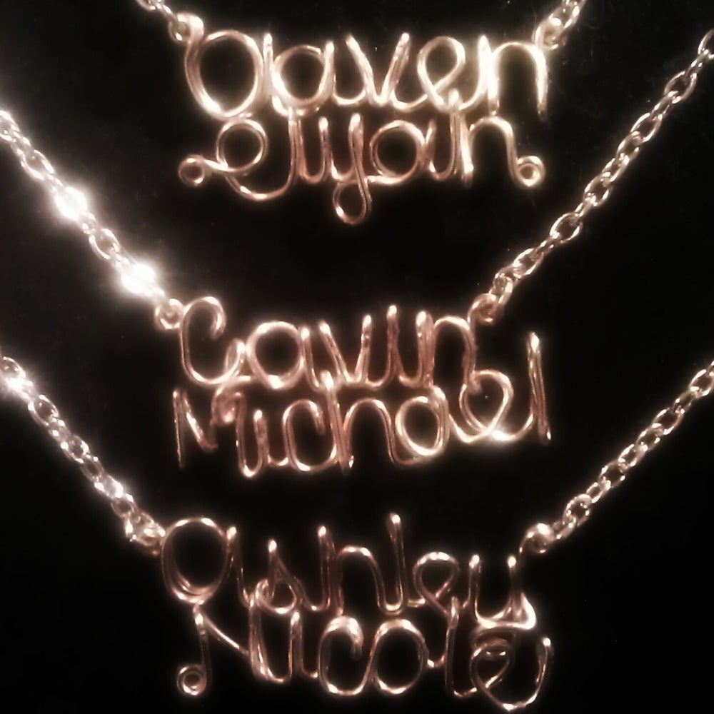 Image of Double-Line Necklace