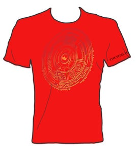 Image of Tilted Red Planet T-shirt