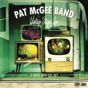 Image of Pat McGee Band : Vintage Stages Live (CD/DVD)