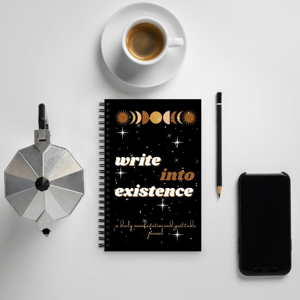 Image of BLANK manifestation journal!