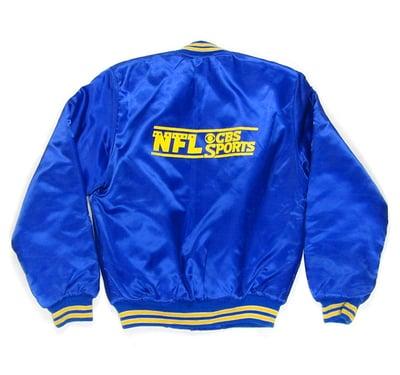 Image of NFL CBS Sports Satin Jacket