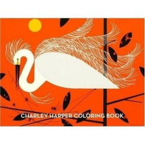 Fabric Freak — Charley Harper Coloring Book Charles Harper Mid ...