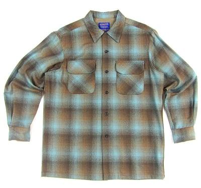 Image of Pendleton Plaid Flannel Shirt