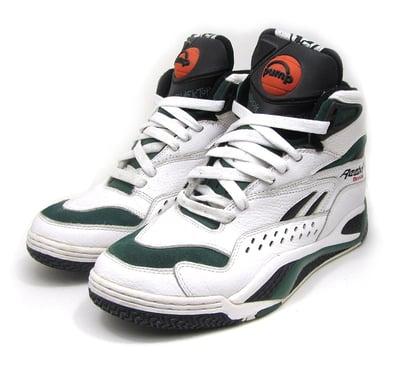 """Image of Reebok """"Blacktop"""" Pump Basketball Sneakers"""