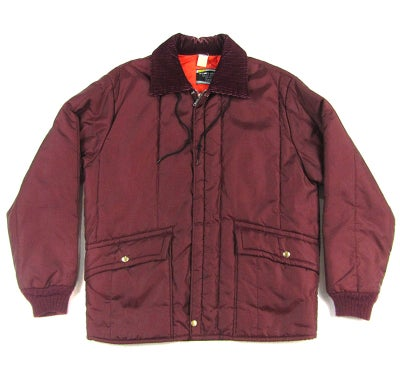 Image of Work Leisure Sears Burgundy Bomber Jacket
