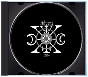 """Image of B!174 The Fortieth Day + Sshe Retina Stimulants + Terence Hannum """"Advent"""" CD"""