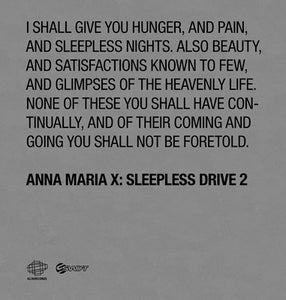 Image of Anna Maria X - Sleepless Drive 2
