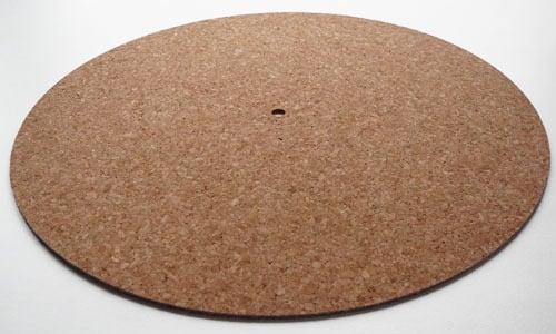Image of Couvre plateau pour platine disque vinyle [liège]