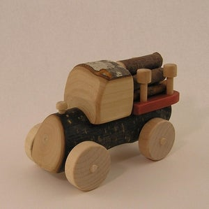 Image of Logging Truck - Mini Big Wheel