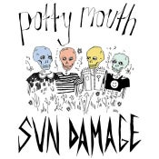 Image of FM-08: POTTY MOUTH - SUN DAMAGE 12""